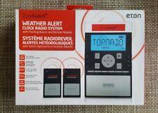 Eton Zoneguard+ Weather Alert Clock Radio