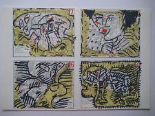 ALECHINSKY PIERRE LITHOGRAPHIE DLM 1982 DERRIÈRE LE MIROIR N°250 LITHOGRAPH