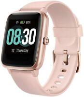 UMIDIGI Uwatch3 Smart Watch Fitness Tracker 5ATM Waterproof - Ret $39