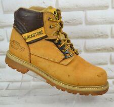 BLACKSTONE SURVIVWAL Mens Brown Leather Outdoor Trekking Boots Size 8 UK 42 EU