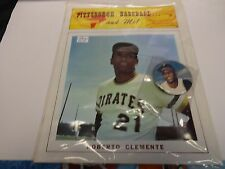 1973 Roberto Clemente Pittsburgh Baseball and Me Magazine With Button