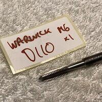 M6 x 1.0mm HSS Taper Tap by Warwick UK D110
