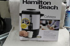 Hamilton Beach 40 Cup Coffee Urn and Hot Beverage Dispenser, Silver