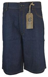 "Mens ROCAWEAR Denim Shorts Classic Fit 112cm 117cm 122cm 127cm 44"" 46"" 48"" 50"""