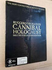 CANNIBAL HOLOCAUST Australian 2 Disc Deluxe Collector's Edition Rare DVD