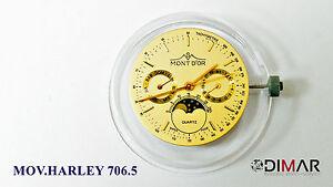 Bewegung / Bewegung HARLEY (Rund) 706.5 DIAM.28mm Multifunktion Phase Lunar