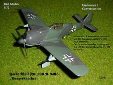 """Focke Wulf Fw 190 A-8/R3 """"Panzerknacker"""" 1/72 Bird Models Mischbausatz/mixed kit"""