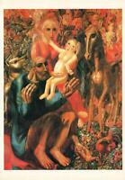 NEW ART POSTCARD PAVEL FILONOV THE PEASANT FAMILY HOLY FAMILY POSTCARD - NEW