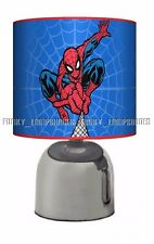 SPIDERMAN ☆ BEDSIDE TOUCH LAMP ☆ BOYS NIGHT LIGHT ☆ MATCHES DUVET