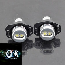 WHITE ANGEL EYES LED HALO Ring Marker CREE FOR BMW E90 E91 325i 328i 335i 335xi