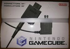 CONNETTORE RF/MODULATORE RF NINTENDO WII GAMECUBE 64 NES SNES NUOVO CON SCATOLA