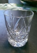 "Royal Brierley Crystal shot Glass/glasses POPULAR cut, signed 2.5"" tall"