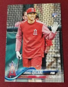2018 Topps Series 2 #700 SHOHEI OHTANI RC ROOKIE Bat Variation Anaheim Angels