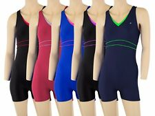 ACCLAIM Marseilles Two Colour Ladies Girls Boy Leg Modesty Swimming Costume