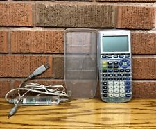 Ti-83 Plus Silver Edition Clear Graphing Calculator W/ Usb Cable Tested Working