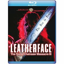 Leatherface: The Texas Chainsaw Massacre III 3 | Sealed | Blu-ray Region free
