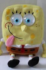 "JAKKS PACIFIC / NICKELODEON Stuffed Talking SHAKING SPONGEBOB Plush/Toy 14"" (Z8)"
