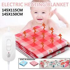 100/150W Electric Heated Under Blanket Heating Pad Winter Warmer 2 Gears
