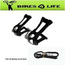 Unbranded Toe Clip Bicycle Pedals