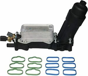 Oil Cooler and Filter Housing Adapter 68105583AF,Chrysler, Dodge,Jeep 3.6L V6