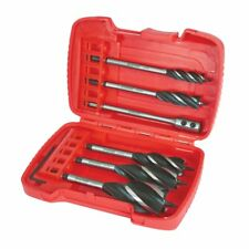 Trend Snappy Four Flute Wood Auger 6pc Drill Bit Set Hole Boring Cutter