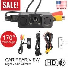 170 Degree Viewing Angle HD Car Rear View Camera IP67 with Radar Parking Sensor#