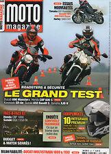 ** Moto Magazine n°267 Contrôle technique / Ducati 1000 & 1100 DS Multistrada