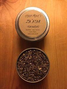 Spicy Mike's Za'atar Zaatar Zahtar Seasoning 4 oz. Tin