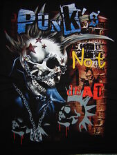 TEE-SHIRT........PUNK' S NOT DEAD...........Taille XL.