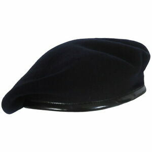 BLACK BERET - VARIOUS SIZES - GRADE 1