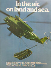 1981-1982 PUB SIKORSKY CH-53E MARINES HELICOPTER HUBSCHRAUBER M198 HOWITZER AD