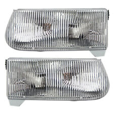 1997 Mercury Mountaineer 1995-2001 Ford Explorer Set of Headlights