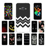 Soft TPU Silicone Case For Samsung Galaxy J1 2016 SM-J120F Back Cover Skin Black