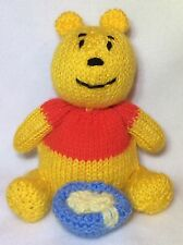 Knitting Pattern-WINNIE THE POOH ispirato CHOCOLATE ORANGE Copertura/15 cm giocattolo