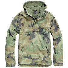 Cappotti e giacche da uomo con cappuccio impermeabili Brandit