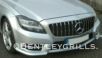 Mercedes W218 CLS Grille 2011-2014  PANAMERICANA AMG GT LOOK BLACK CHROME GRILL