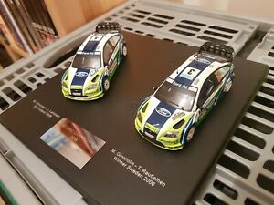 IXO 1:43 Ford Focus WRC - Champion Set 2006 - Hirvonen / Gronholm #3 #4