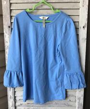 Matilda Jane Blue Puffer Shirt Size 10 Girls Tween