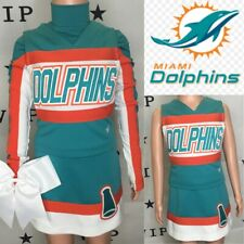 Real Cheerleading Uniform Miami Dolphins Youth S