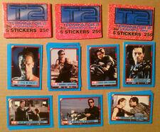 Trading Card Stickers Lot~ TERMINATOR 2 ~Arnold Schwarzenegger ~Linda Hamilton