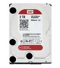 "HDD 2TB Disco Duro Interno  SATA 3.5"" WD RED WD20EFRX"