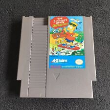 Jeu Nintendo NES Simpson's Bart vs Space Mutants USA Très Bon état Fonctionnel
