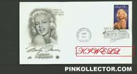 The First Day Covers Issued at Universal Studios Marilyn Monroe.***