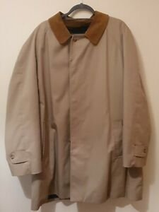 """GRENFELL _ MEN'S COLLARED COAT JACKET MADE IN ENGLAND _ size XL 50"""" Chest"""