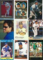 HUGE MIKE PIAZZA BASEBALL CARD LOT - LA DODGERS-NEW YORK METS-PADRES-A'S