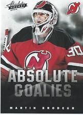 2013-14 Panini Absolute Hockey Boxing Day MARTIN BRODEUR NHL Goalies #10