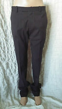 Marni Brown Tapered Wool  Trousers Commessa Winter Edition 2013 Size 40- M