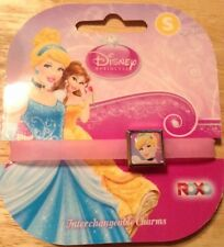 DISNEY PRINCESS CINDERELLA ROXO interchangeable charms  bracelet