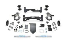 Fabtech K1084 Basic Lift System w/Shocks Fits 14-18 Sierra 1500 Silverado 1500