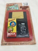 Vintage 1990 The Flinstones Slate Set Hanna Barbera Chalk Board NEW! (Q116)